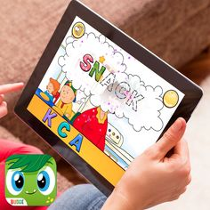 Budge World – Featuring Exclusive Caillou Mini Games!