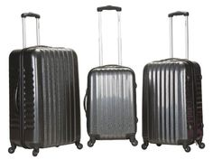 TOPSELLER! Rockland Luggage 3 Piece Luggage Set $157.99 at www.luggagefactory.com!