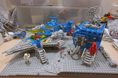 LEGO MOC | LL928 Comes Home #928 #classic #space