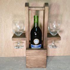 Wijn Tote wijn Caddy, Wijnrek, Housewarming cadeau, huwelijkscadeau, wijn, Mothers Day Gift