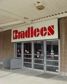 I remember going to Bradlees with my grandmother. She always let me pick out something to take home.