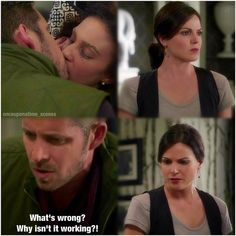 """Marian, Robin Hood and Regina - 4 * 3 """"Rocky Road"""" that moment when Robin despairs and every outlaw queen fan cheers"""