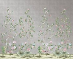 If you love the look of Gracie or De Gournay wallpaper but not the price, this is for you.