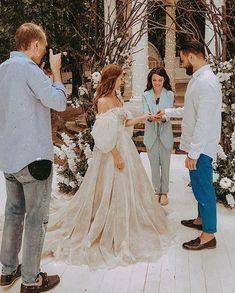Apr 2020 - Fairytales Champagne dramatic Puff sleeves Wedding Dresses - Eternally Yours Custom Bridals Plus Wedding Dresses, Western Wedding Dresses, Wedding Dress Train, Wedding Dress Styles, Fairy Wedding Dress, Printed Wedding Dress, Bridal Gowns, Wedding Gowns, Tulle Wedding