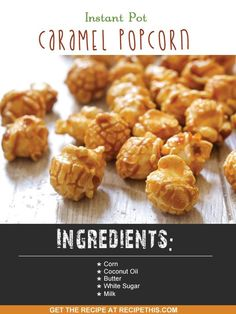 Instant Pot | How To Make Popcorn In The Instant Pot recipe from RecipeThis.com