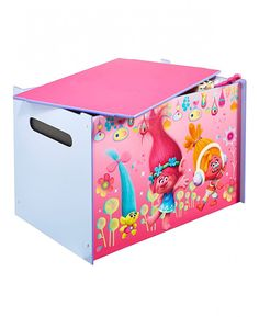 This Trolls Toy Box is an ideal storage solution and great for encouraging children to tidy away! Free UK delivery available