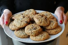 Cookies aux pépites de chocolat et aux flocons d'avoine (thermomix)