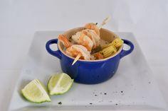 Petite cocotte asiatique Menu, Carrots, Shrimp, Vegetables, Food, Drinks, Key Lime, Zucchini, Asparagus