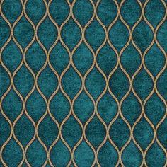 Iman Malta Peacock Fabric - Image 1