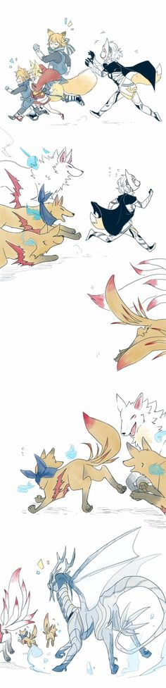 Fire Emblem Fates - as it stands, human < kitsune < dragon
