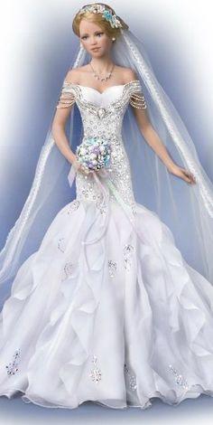 #bride #dolls / ashtondrake.com / 1..3