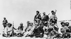 Fearing for his life, the Dalai Lama (sixth from left) flees Tibet in 30th March 1959 and heads across the Himalayas to India disguised as a soldier. The Dalai Lama has long denied China's assertion that he's seeking Tibetan independence. He says he wants only enough autonomy to protect its traditional Buddhist culture. Beijing rejects accusations of oppression, saying that under its rule, living standards have greatly improved for the Tibetan people. It makes centuries-old historical claims