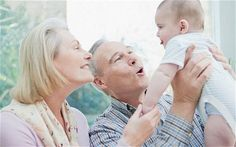 Grandparents with baby. PRECIOUS memories that will last forever