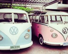 Pastels VW's