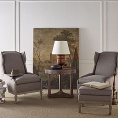 Things chosen well rather than often, Baker Furniture speaks the language of style. The accent is on product--design, materials and craftsmanship. Chair And Ottoman, Wingback Chair, Baker Furniture, Reading Nook, Decoration, Accent Chairs, Dining Chairs, Design Inspiration, Living Room