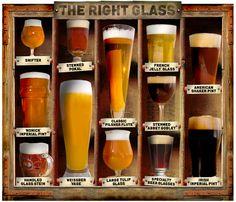Un vaso para cada cerveza
