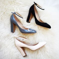 Step into season in style with our chic ankle strap pump | Banana Republic