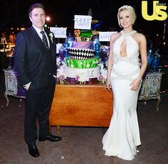 Holly Madison Wedding: Party Dress, Bridesmaids Dresses, and Cake - Us Weekly