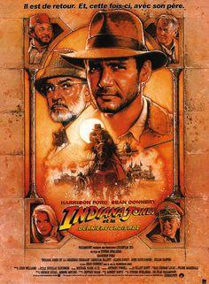 Indiana Jones et la Dernière Croisade (Indiana Jones and the Last Crusade) est un film d'aventure fantastique américain réalisé par Steven Spielberg, sorti en 1989. Il s'agit du troisième volet de la série de quatre films centrés sur le personnage d'Indiana Jones incarné par Harrison Ford. Utah, 1912. Le jeune Indiana Jones (River Phoenix) fait partie d'une troupe de scouts quand il surprend des pilleurs de tombes dans une grotte