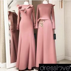 Shop sexy club dresses, jeans, shoes, bodysuits, skirts and more. Hijab Evening Dress, Hijab Dress Party, Evening Dresses, Street Hijab Fashion, Muslim Fashion, Dress Outfits, Fashion Dresses, Abaya Designs, Hijab Style