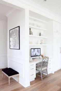 Kitchen Desk workspace