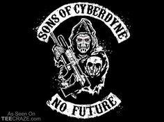 Sons Of Cyberdyne T-Shirt Designed by JBaz  Source: http://teecraze.com/sons-of-cyberdyne-t-shirt/
