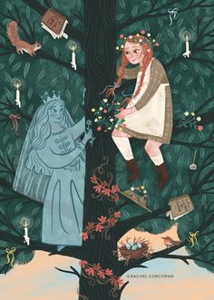 Anne of Green Gables — Rachel Corcoran Illustration Princess Illustration, Cute Illustration, Anne Of Green Gables, Gilbert And Anne, Rachel Allen, Anne White, Anne With An E, Anne Shirley, Art Inspo