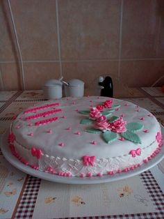 Mom's birthday cake again! Really yum!