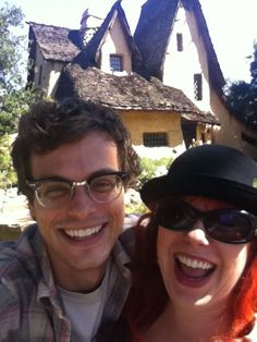 Criminal Minds, Matthew Gray Gubler & Kirsten Vangsness <3
