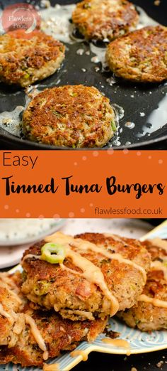 We all love our Easy Tinned Tuna Burgers in our house, so quick and easy to make. - We all love our Easy Tinned Tuna Burgers in our house, so quick and easy to make and they taste del - Tinned Tuna Recipes, Healthy Tuna Recipes, Fish Recipes, Seafood Recipes, Mixed Seafood Recipe, Goan Recipes, Lunch Recipes, Yummy Recipes, Healthy Food