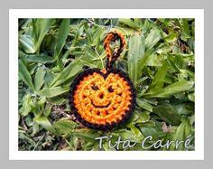 Feliz Halloween com crochet e Bruxinhas...