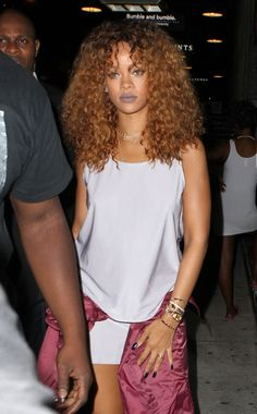 August 28: Rihanna out & about in NYC