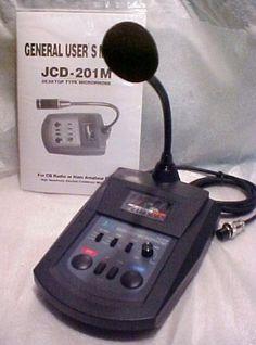 Workman Dm502B Power Base AM/SSb DESK CB RADIO Microphone