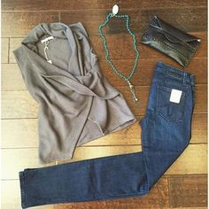 This entire outfit is a must have!! The cutest sweater vest from @mickeyandjenny with the most gorgeous wash from @level99jeans & the best accessories brought to you by @lovehealsjewelry & @shoplaggola   #Sonoma #sonomastyle #musthave #outfit #ootd #lo...