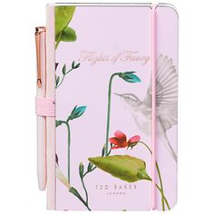 Buy Ted Baker Oriental Bloom Mini Notebook and Pen Online at johnlewis.com