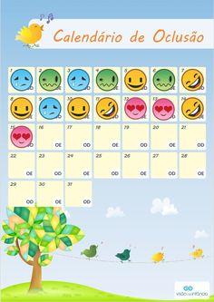 Calendario De Oclusao Para Facilitar O Seu Controle E Incentivar Uso Do Tampao