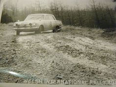 FORD CORTINA 1965 INTERNATIONAL WELSH RALLY PHOTOGRAPH SODEN PICTURE 2