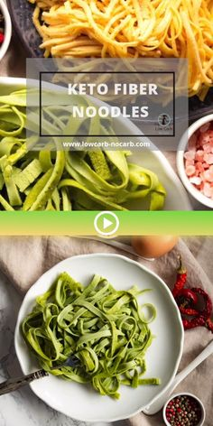 Easy and tasty those Keto Fiber Noodles are a perfect base for all your different varieties of flavors to choose from. Gluten-free, Low-Carb, Diabetic Friendly and Grain-free is the healthiest choice. Low Carb Keto, Low Carb Recipes, Diet Recipes, Healthy Recipes, Diabetes Recipes, Lamb Recipes, Gourmet Recipes, Low Carb Noodles, Pasta Noodles