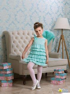 Perlitta PRA061606 платье для девочки нарядное