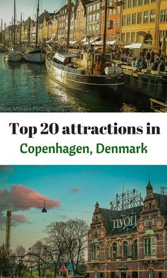 The top 20 attractions and favorite landmarks to visit in Copenhagen, Denmark. Check out some of these wonderful attractions or all of them to get a real taste and feel for this fascinating and cosmopolitan capital of Denmark http://travelphotodiscovery.com/20-top-attractions-in-copenhagen/