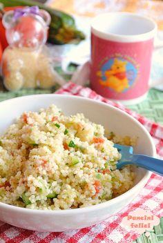 cous cus con verdure, primi piatti per bambini