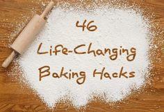 46 Life-Changing Baking Hacks Everyone Needs To Know