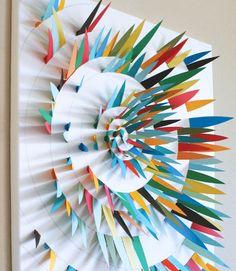 Изкуство за стената от хартия