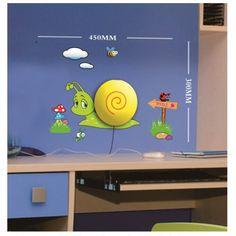 Lampa + naklejki na ścianę dla dzieci HM4-WSL-15RL006 - WISH Group Tomasz Kaczmarczyk