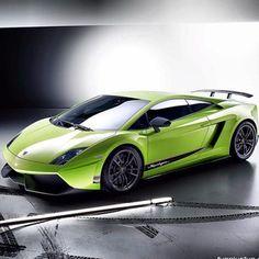 Cool Green Lamborghini Gallardo!