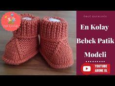 # 41 Easiest Baby Booties Model – Knitting Patterns / Knitted Baby Boots – The Best Ideas Knitted Baby Boots, Baby Booties Knitting Pattern, Crochet Baby Booties, Baby Knitting Patterns, Baby Patterns, Knitting For Kids, Crochet For Kids, Baby Slippers, Baby Girl Blankets