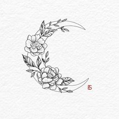 30 Best hot trendy tattoos moon design ideas for women 30 Best hot trendy tat . - 30 Best hot trendy tattoos moon design ideas for women 30 Best hot trendy tat Tatto Drawings - Floral Tattoo Design, Flower Tattoo Designs, Flower Tattoo Drawings, Small Tattoo Designs, Drawing Tattoos, Tattoo Floral, Design Tattoos, Tattoo Design Drawings, Lotus Tattoo