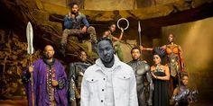 Black Panther soundtrack album poster
