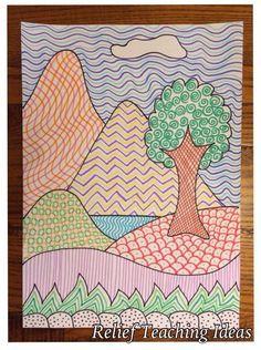 Relief teaching ideas blog (art, crafts, fitness, games, math, activities)