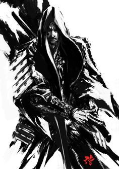 ArtStation - Samurai Sumi Spirit 2, Deryl Braun